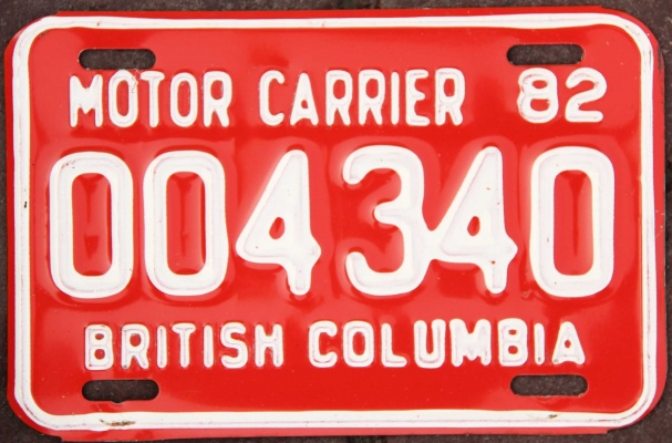 1982 License Plates For Sale And Trade And Display At Platevault