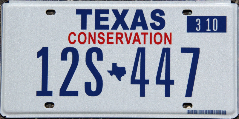 Rustic Dallas Cowboys License Plate Embossed Tin Metal Texas The Lone Star State